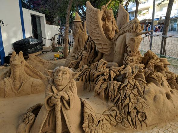 Albufeira Sand Sculptures