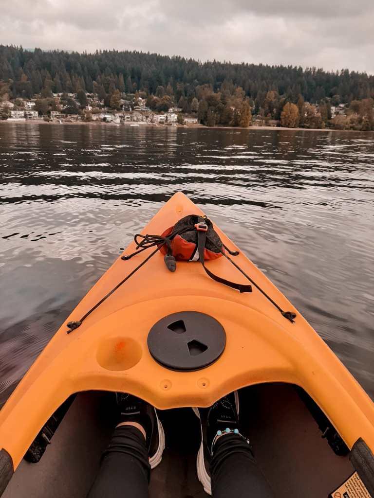 Kayaking in Port Moody